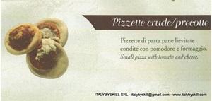 Picture of Pizzette Crude / Precotte