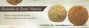 Picture of Timballo di Pasta Mignon