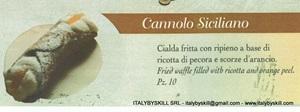 Immagine di Cannolo Siciliano