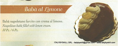Picture of Baba' al Limone