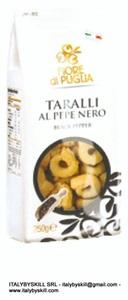 Picture of Black Pepper Tarallini 250 gr