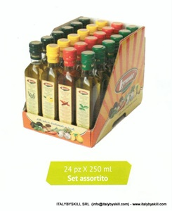 Immagine di Olio Condimenti Set Assortito 24 pz x 250ml