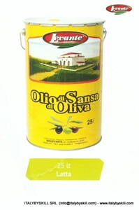 Picture of Olio di Sansa Latta 25lt