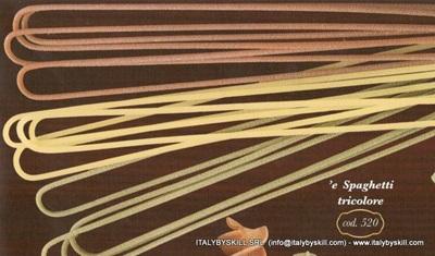 Picture of 'e Spaghetti Tricolore