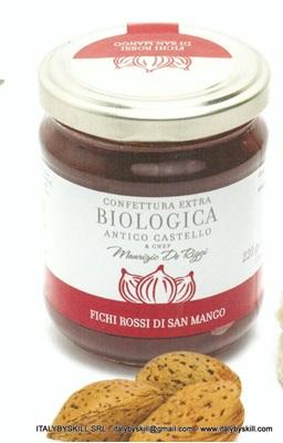 Immagine di Confettura extra di Fichi Rossi di San Mango